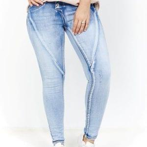 Valentina Button Jean