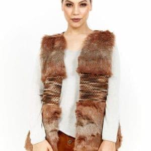 Gucci Fur Longline Vest