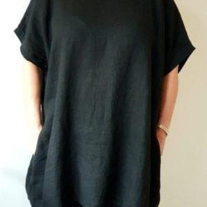 Bec Linen Oversized Tunic